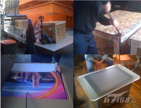 首台微软Surface设备销往国外