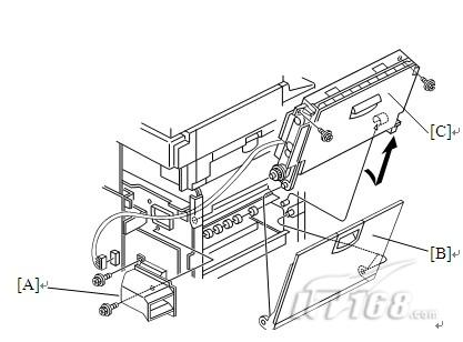 理光复印机拆机_理光2075复印机充电二手理光MP7001拆机套