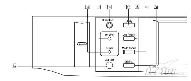 柯尼卡di450复合机控制面板按键和指示灯(四)