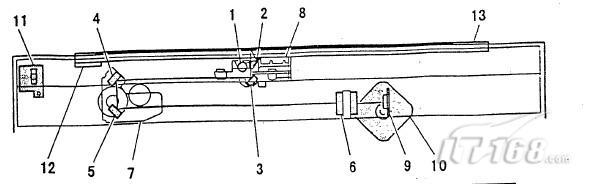 夏普ar-200复合机扫描部的基本结构