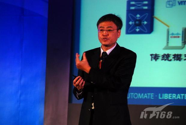 思科CTO梁永健:虚拟化与数据中心大融合