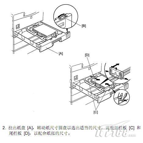 理光a250复印机的安装步骤