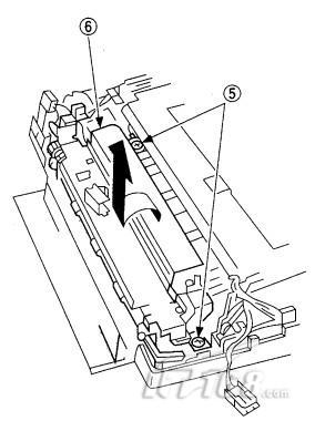 合机定影器的拆卸