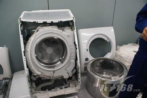 松下滚筒洗衣机的回收分解