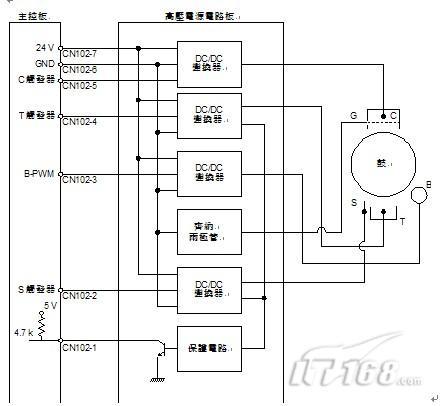求夏普kf185we电源板电路图