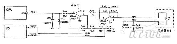 夏普系列复印机传感器电路