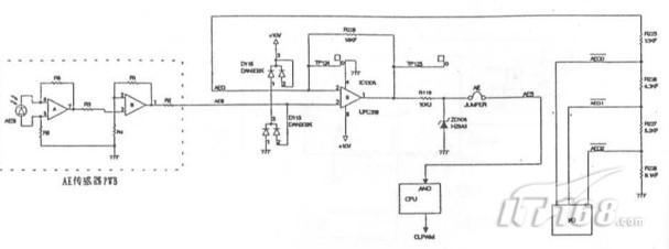 夏普sf2035复印机ae传感器电路