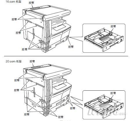 胶带纸盒设计平面图
