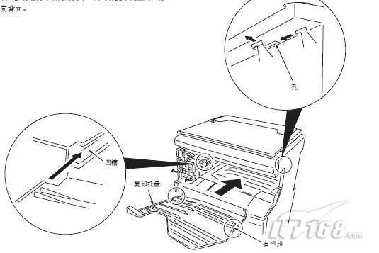 多功能打印机电源插头插入的插座