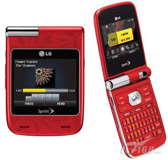 CES 2010:LG发布Lotus Elite莲花手机