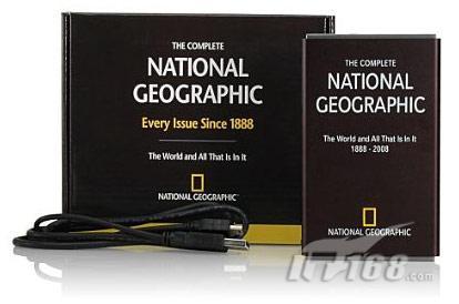 Since 1888!国家地理推出160GB移动硬盘