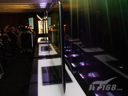 CES2010:RGB+Y 夏普推出四色显示液晶