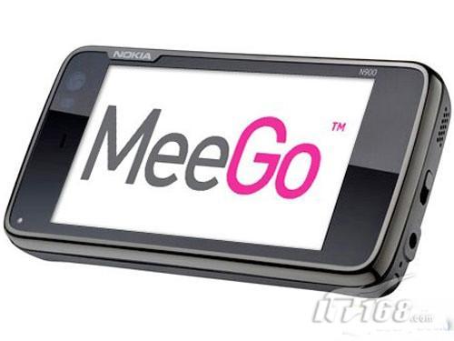 测试版Meego操作系统登陆诺基亚N900