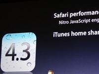 全新的IOS4.3