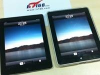 两代iPad屏幕实拍对比