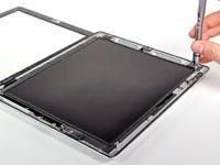 分离前面板和LCD屏幕
