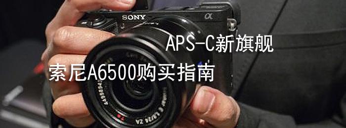 ����APS-C���콢 ����A6500����ָ��