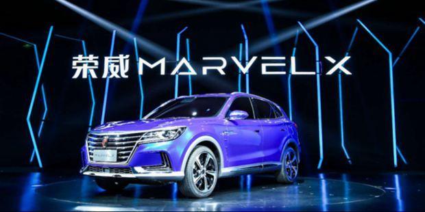 荣威发布量产电动汽车MARVEL X