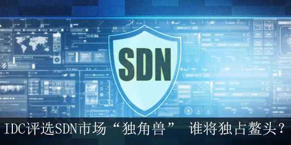 """IDC评选SDN市场""""独角兽""""谁将独占鳌头"""